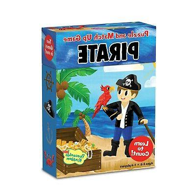 match up game and puzzle pirate learn