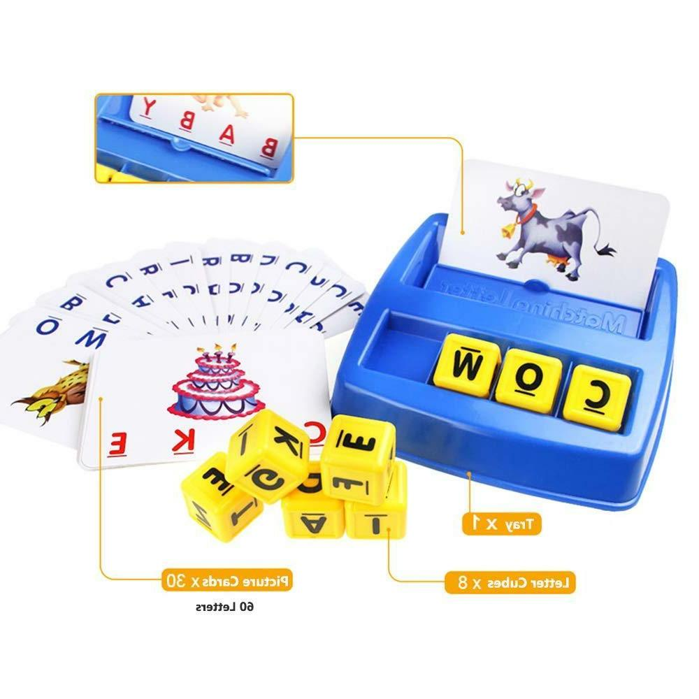 New School Matching Spelling Learning Game
