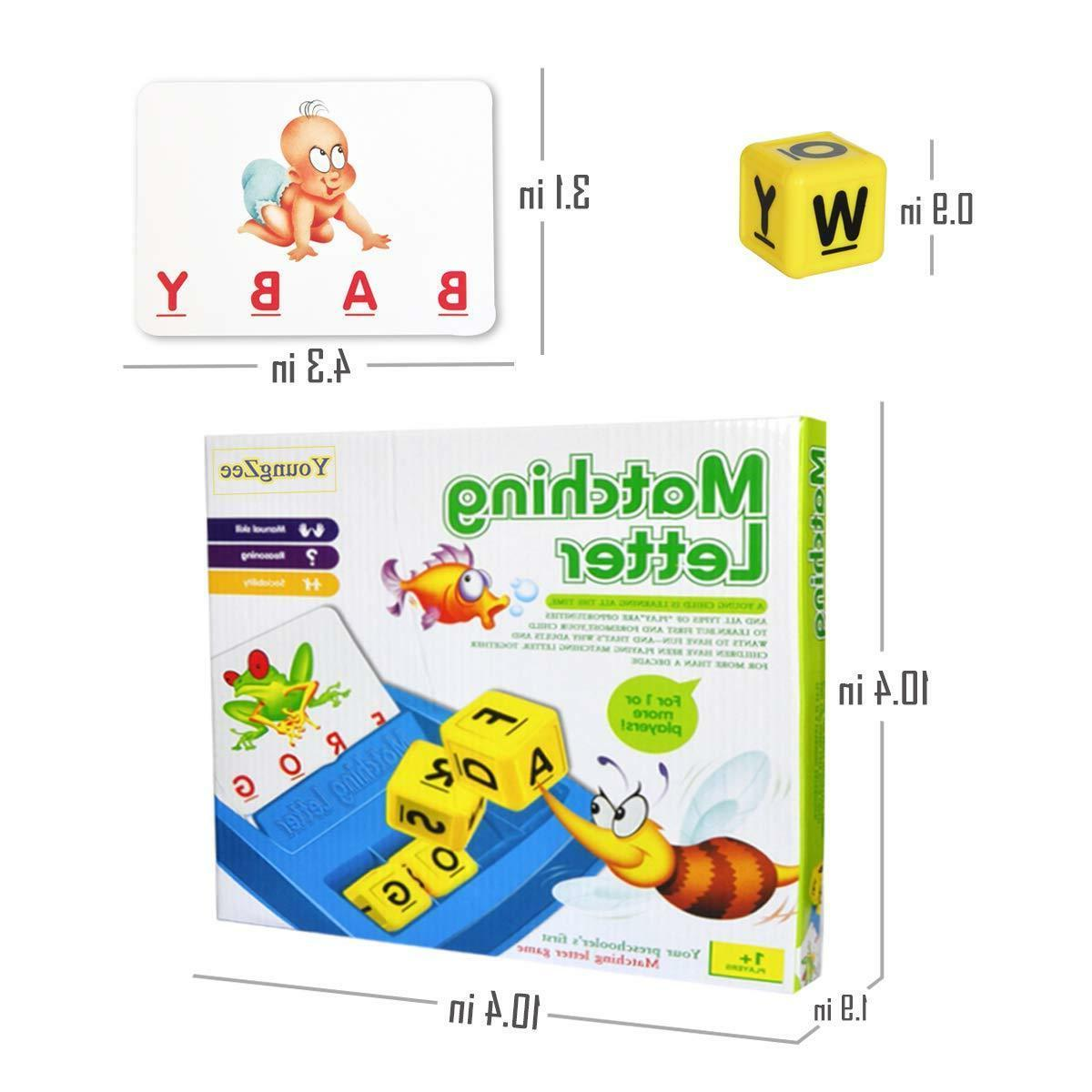 New Matching Letter Spelling Game