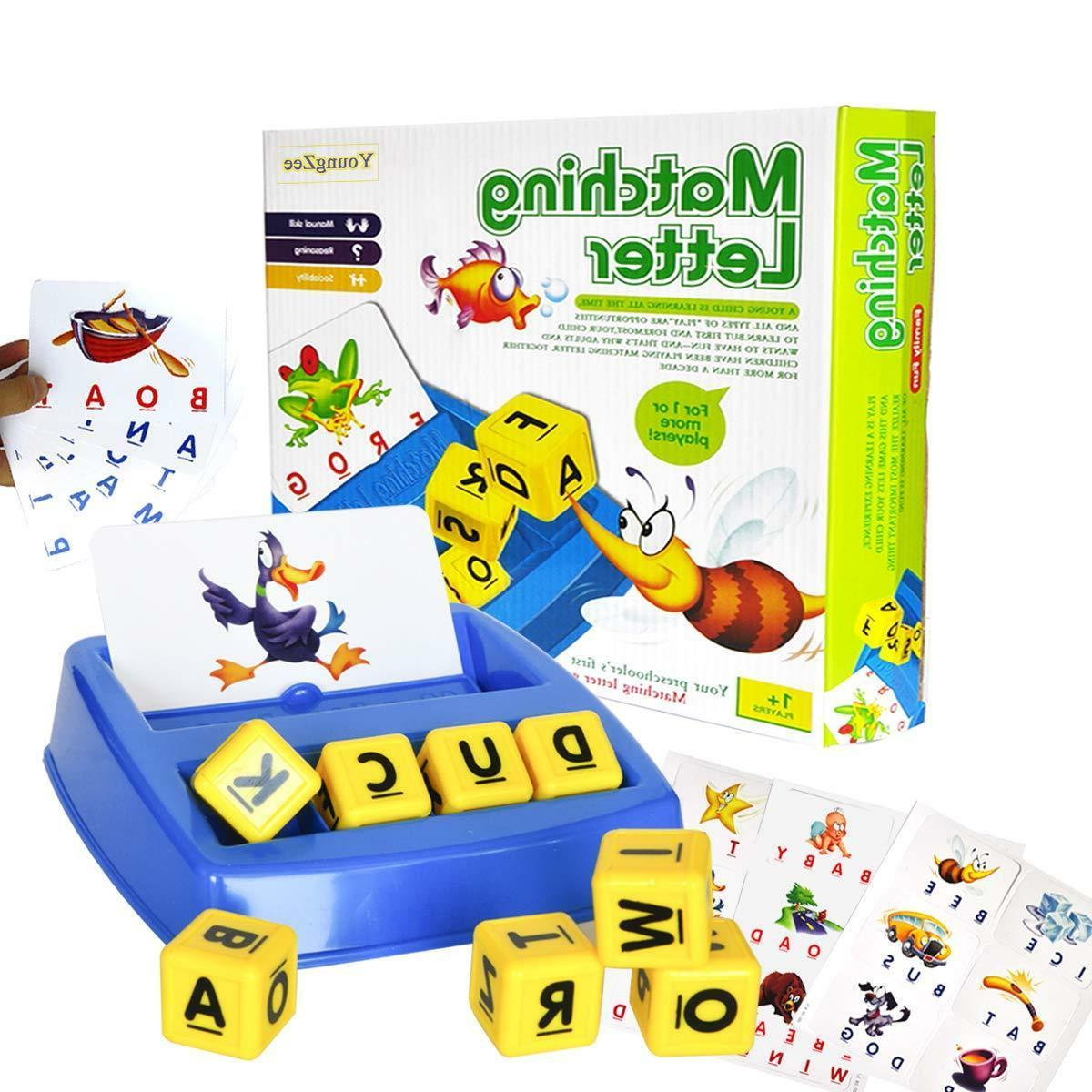 matching letter spelling learning game center