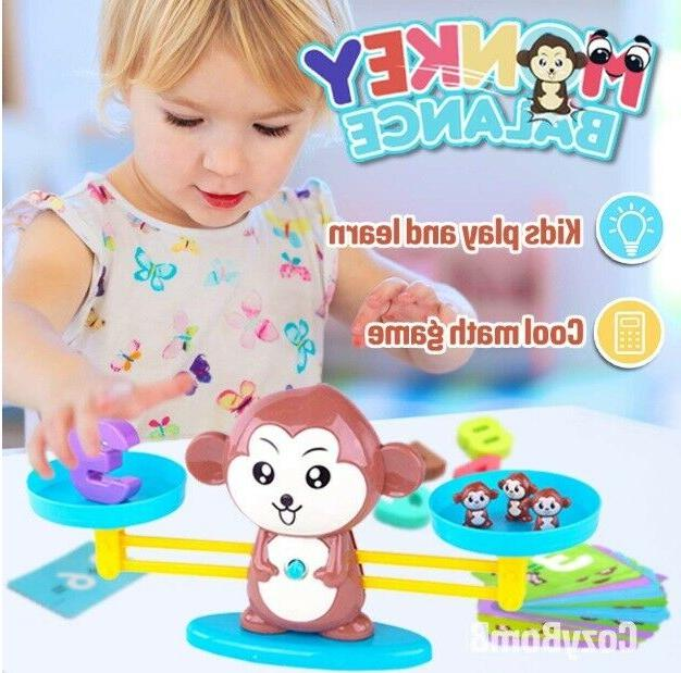 Monkey Counting Games Math TOOL