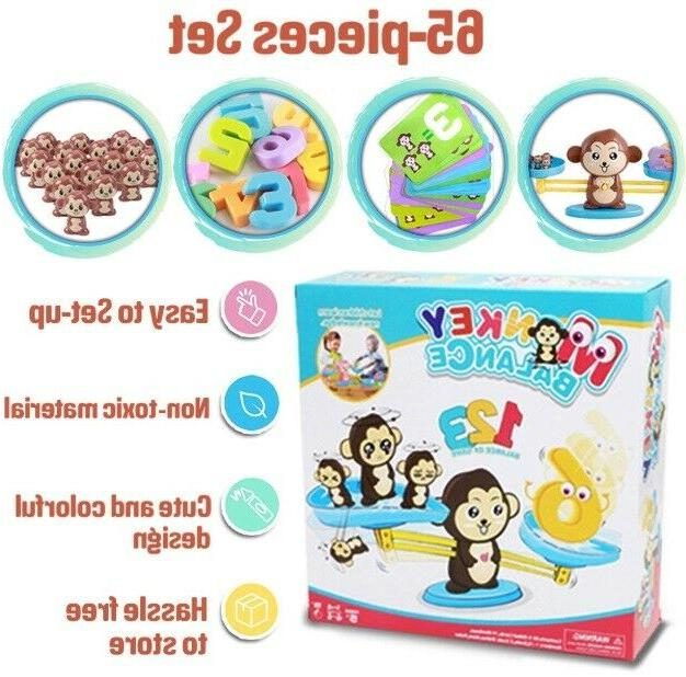 Monkey Balance Counting Games TOOL LEARN