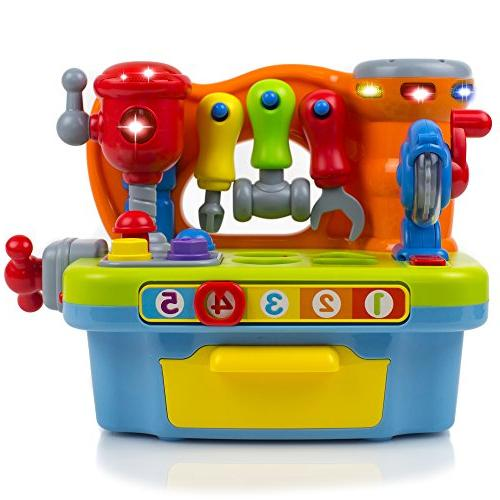 Toy Lights Engineering Play, Great Numbers, and Alphabet   Great Toddler Boys