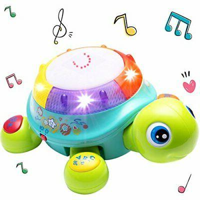 musical turtle toy english and amp spanish