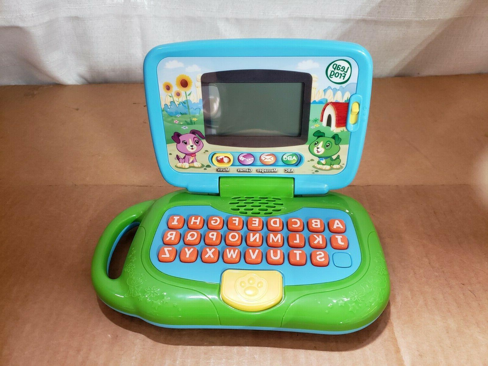 my own leaptop frustration age 2 open