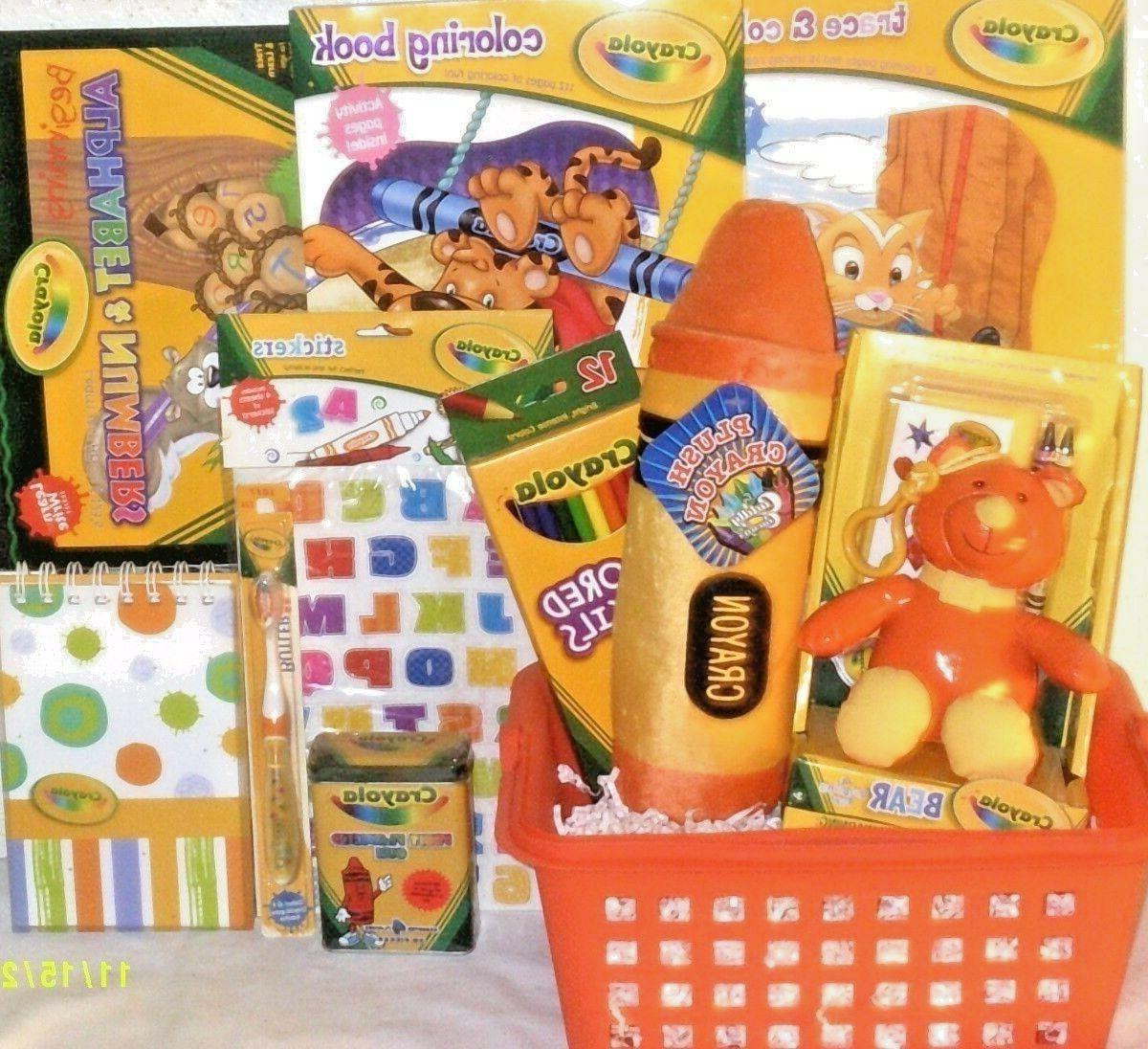 new art easter toy gift basket learning