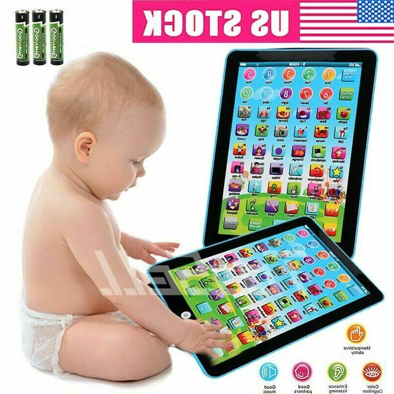 new kids educational tablet pad learning toys
