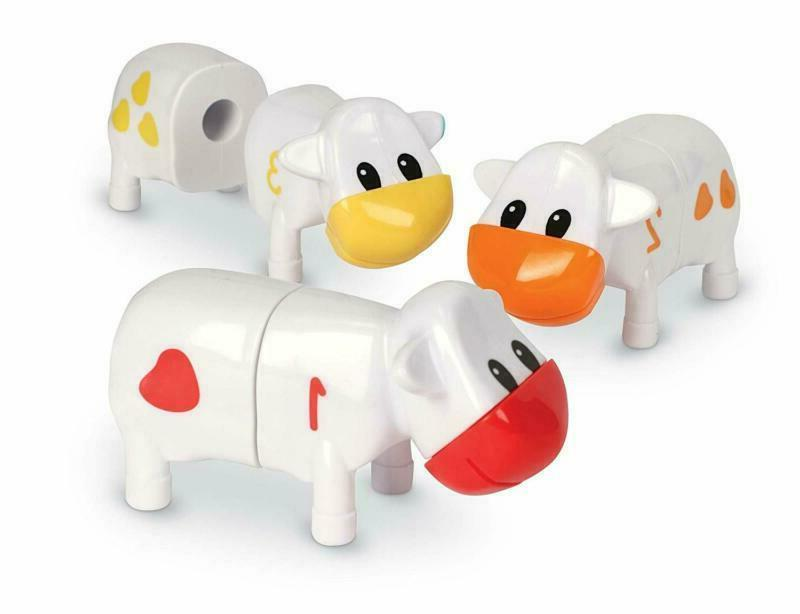 New Learning Playset Resources Counting Cows Toy Set, 20 Pie