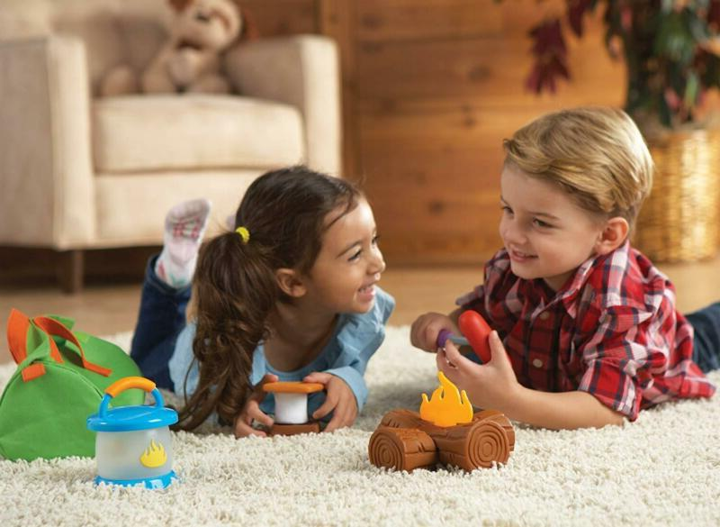 Learning Resources Camp Out!, And Campfire Pieces, A