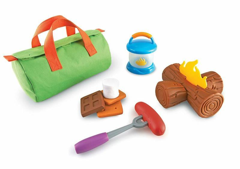 Camp Out!, And Campfire Toy, 11 Pieces, A