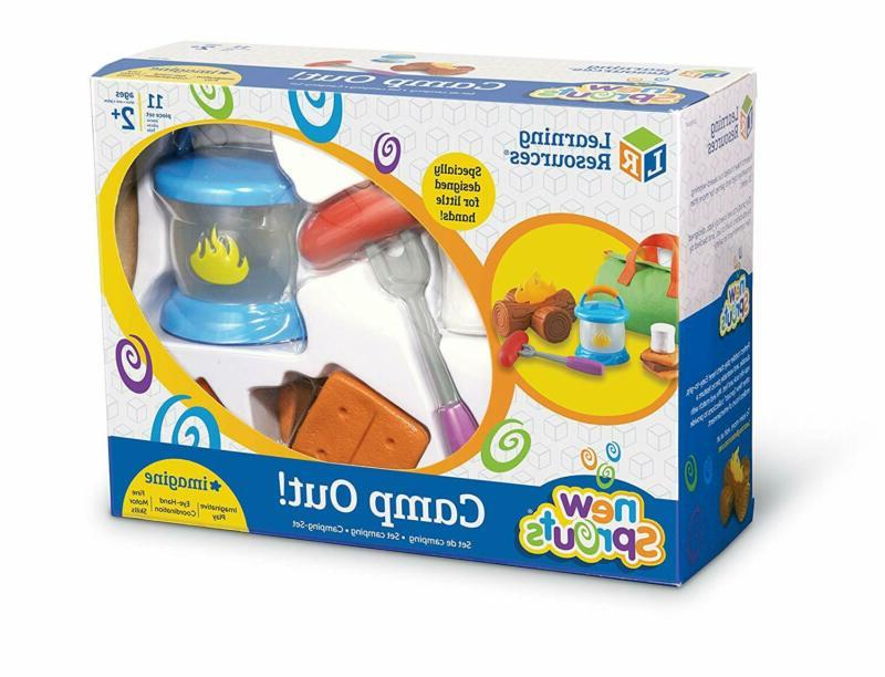Learning Resources Camp Out!, Campfire Toy, A