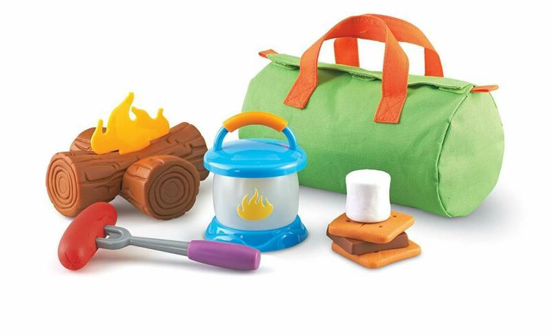 Learning Resources New Sprouts Camp Out!, Camping and Campfi
