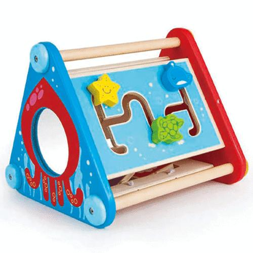 take along wooden baby toddler activity skill