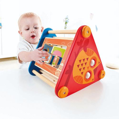 Hape Baby Toddler Activity Skill Learning Building Box
