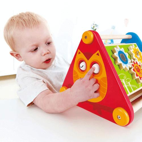 Hape Along Wooden Baby Activity Learning