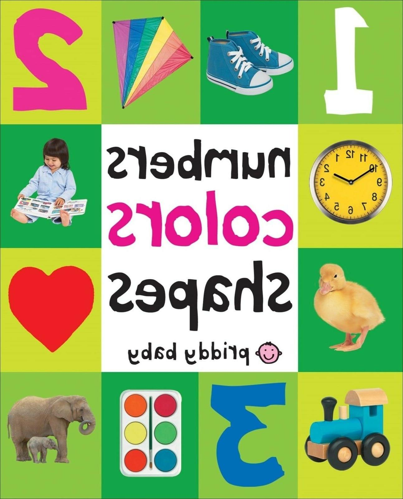 Toddler Book 100 Numbers Colors Shapes Board Toy Early