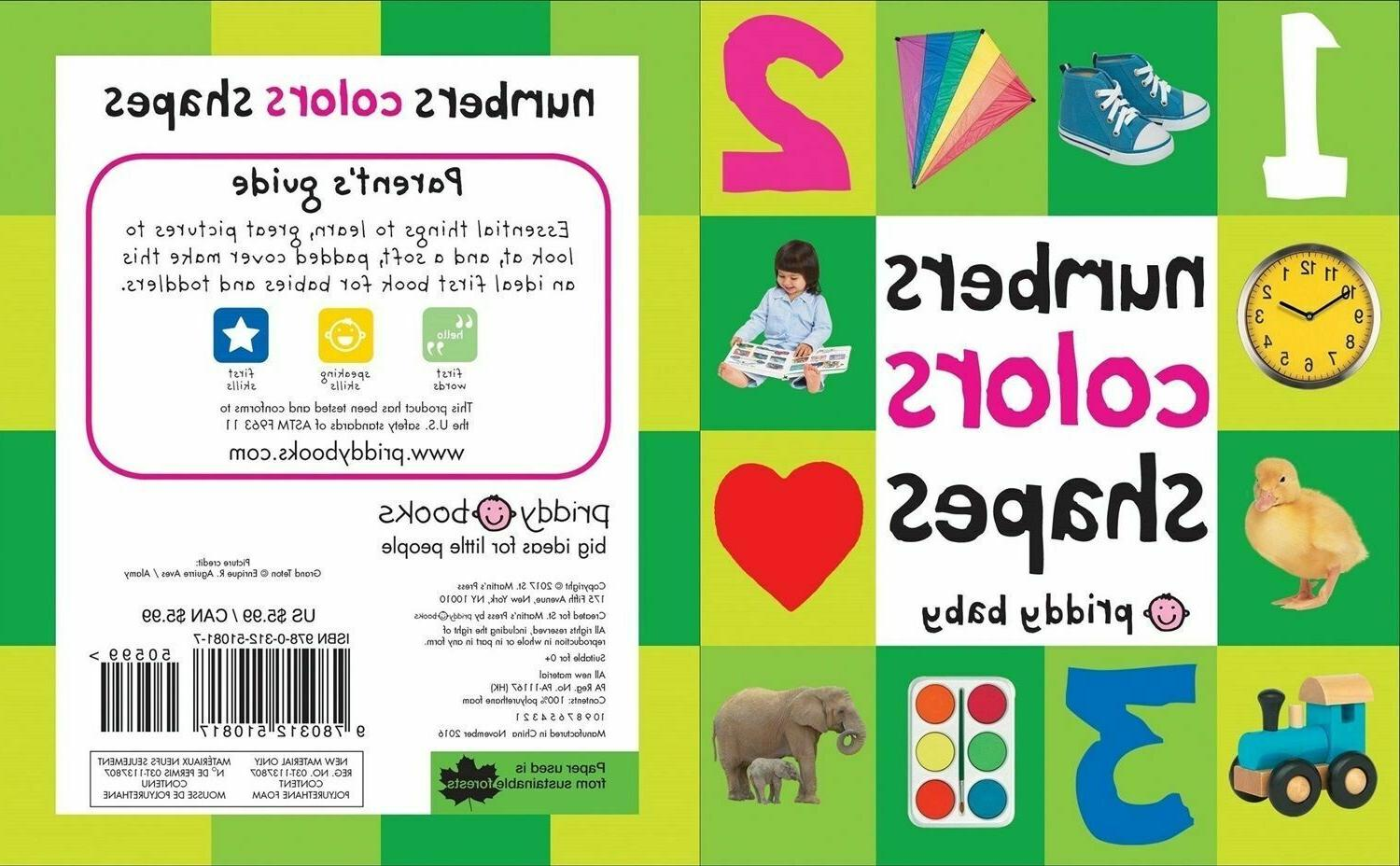 Toddler 100 Colors Board Toy Education