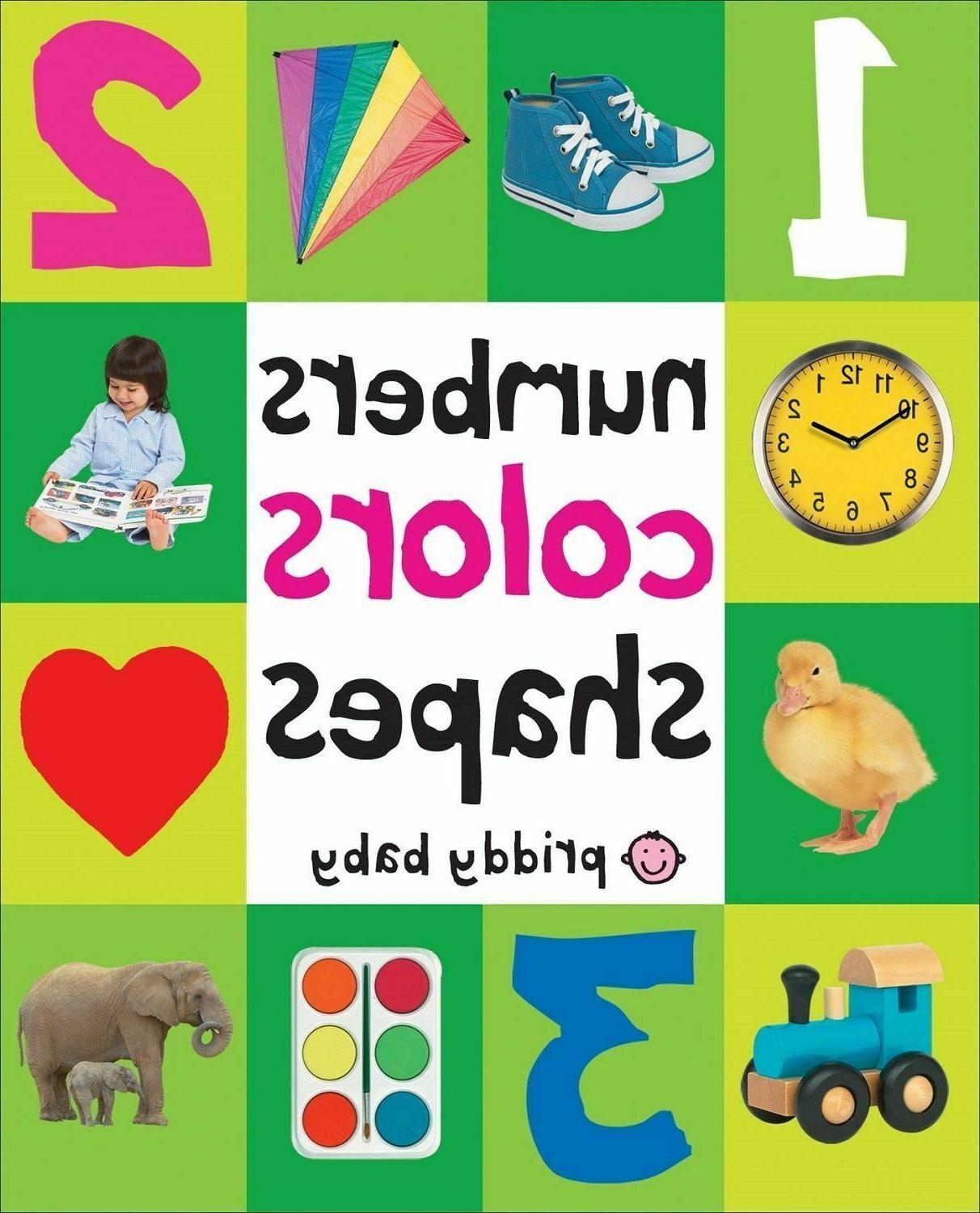 Toddler Book First 100 Numbers Board