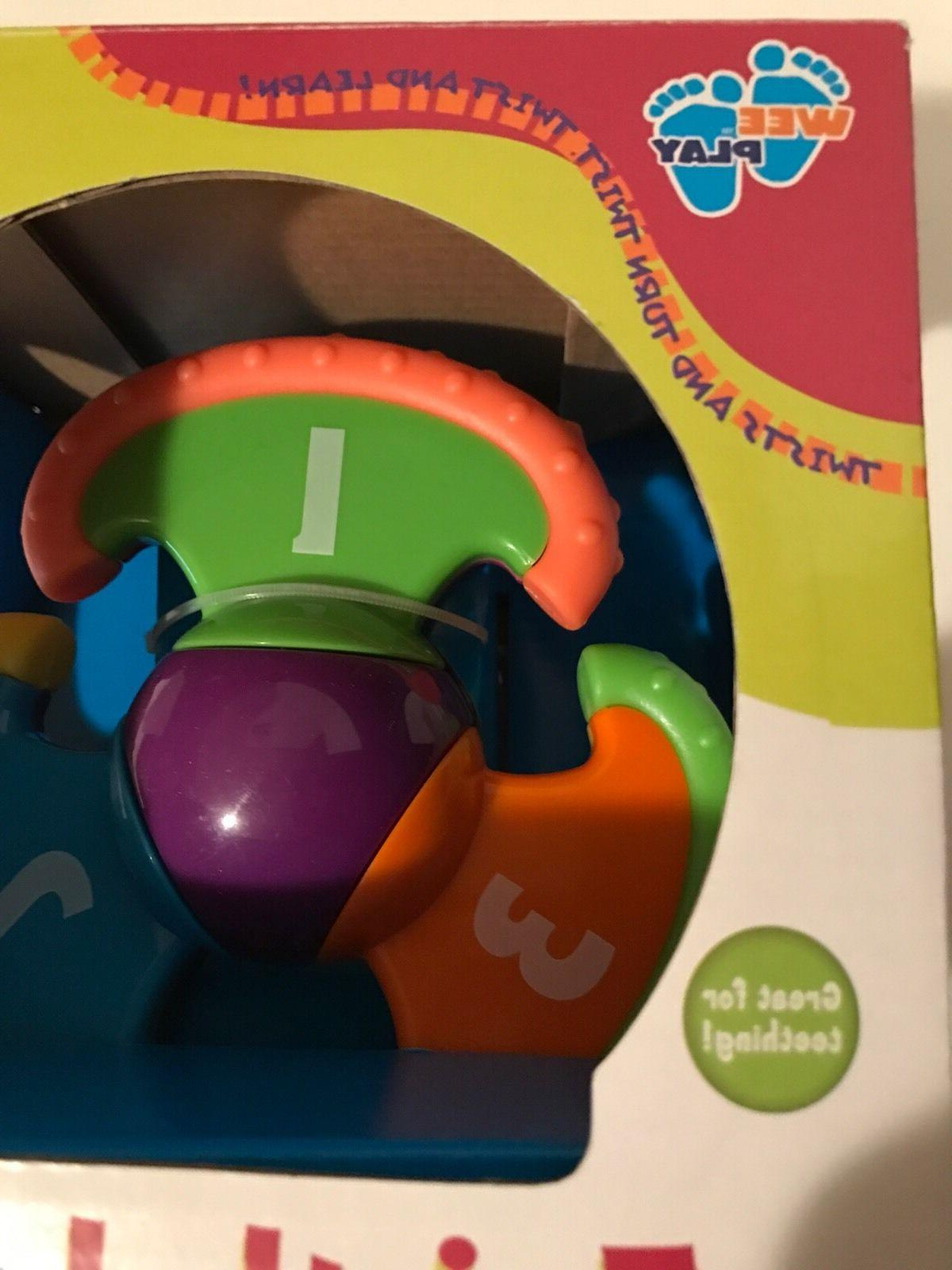 Twist'n Baby Teething Toy, 4m+ Good for Gift, Toysmith