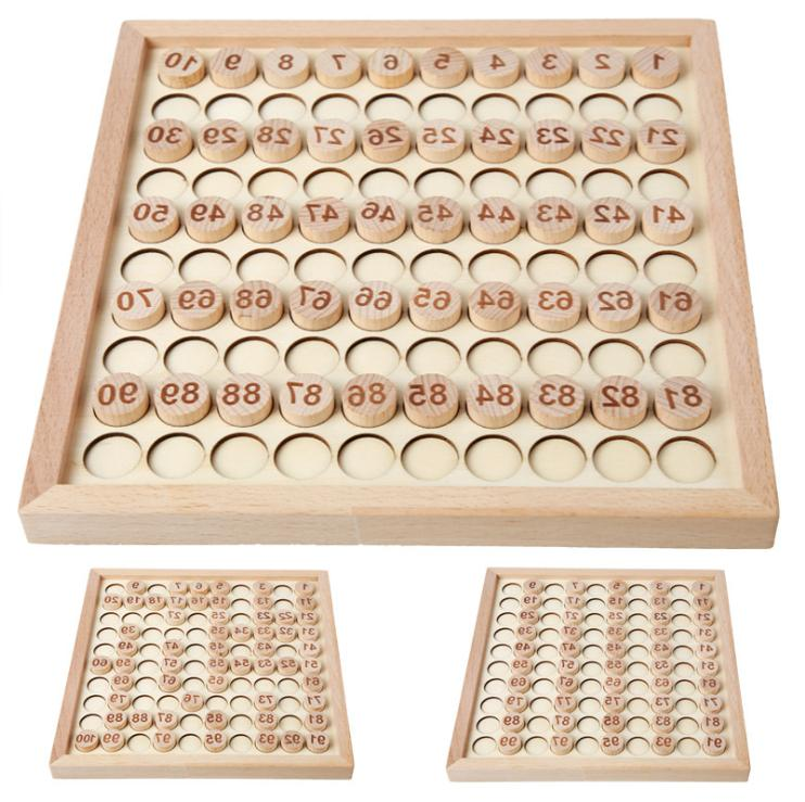 Wooden Puzzle Early Learning Toys 2 3 Age