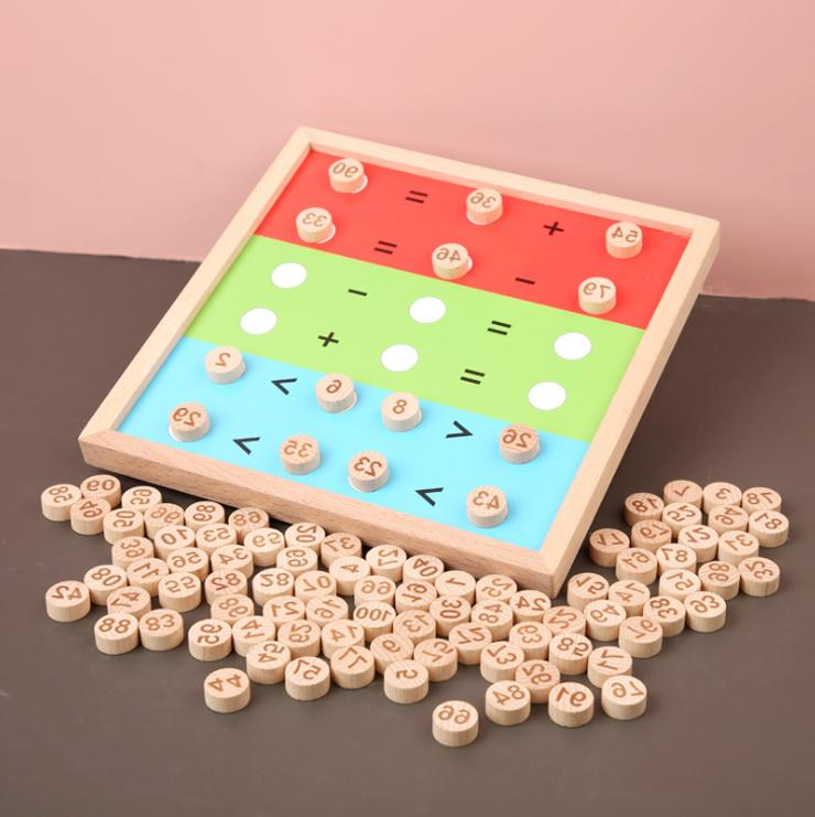 Wooden Puzzle Early Toys 1 2 Age
