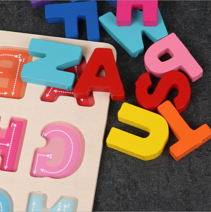 Wooden Puzzle Board Learning Toys