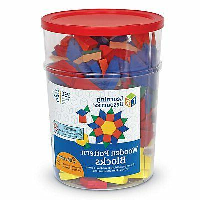 Learning Resources Wooden Blocks, Early Set 250,