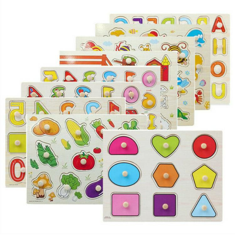 Kids Puzzles Learning Toys Shapes