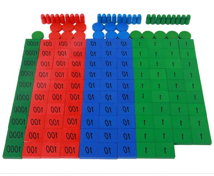 wooden learning arithmetic puzzle