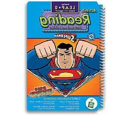 """LeapPad: Leap 2 Reading - """"Superman"""" Interactive Book and Ca"""