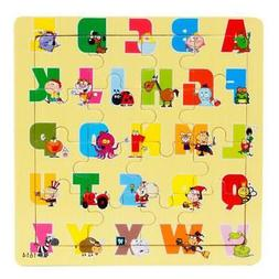 Multicolor Wooden Various Jigsaw Toy For Kids Education And