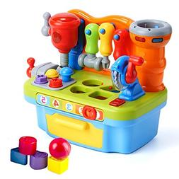 Woby Multifunctional Musical Learning Tool Workbench Toy Set