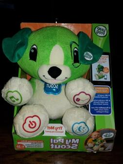 LEAPFROG MY PAL SCOUT INTERACTIVE PERSONALIZED PLUSH DOG BAB