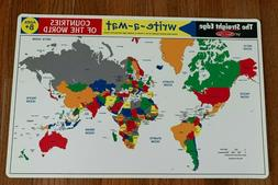 New Melissa & Doug Learning Mat - Countries of The World. Ag