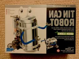 New 4M Tin Can Robot Kit Self Build Toy Science Recycle Game