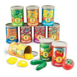 one to ten counting cans toy set