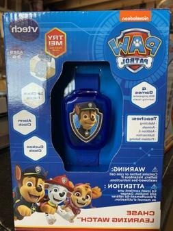 PAW Patrol Chase Blue Learning Watch Nick Jr. Character VTec