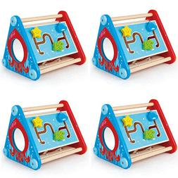 Hape Take Along Wooden Baby Toddler Activity Learning Buildi