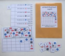Teacher Made Math Center Learning Resource Game Counting Gra
