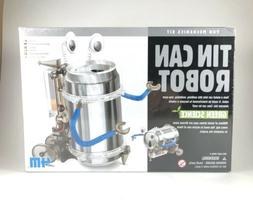 4M Tin Can Robot Science Kit for Ages 8 and Older, Electroni