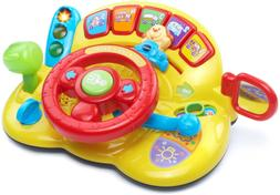 VTech Turn and Learn Driver Frustration Free Packaging,Yello