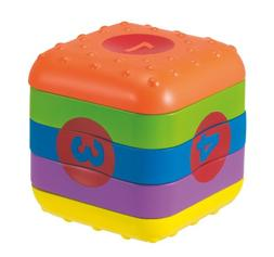 Manhattan Toy Whoozit Learn And Play Cube Activity Toy