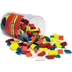 Learning Resources Wooden Pattern Blocks, Set of 250
